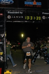 2007 First Ironman Finish