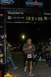 2007 First Ironman Finish